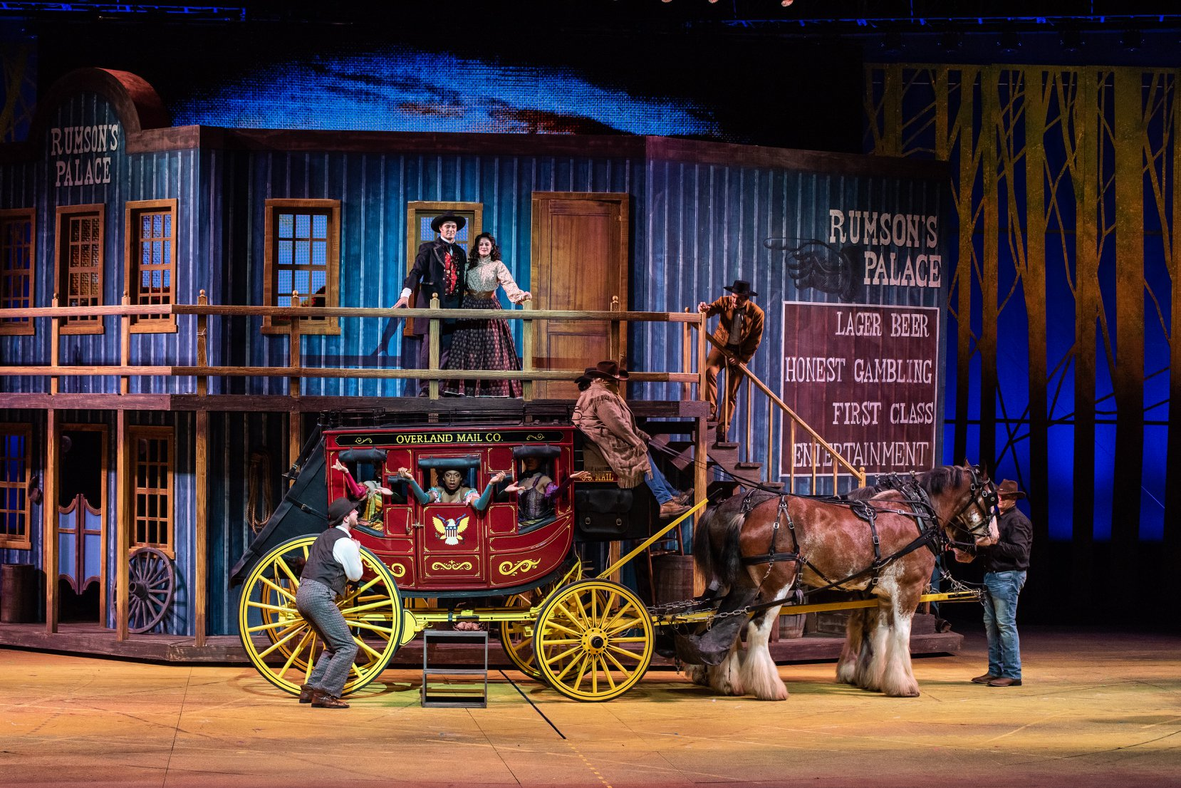 Review Roundup: PAINT YOUR WAGON at The MUNY; What Did The Critics Have To Say?