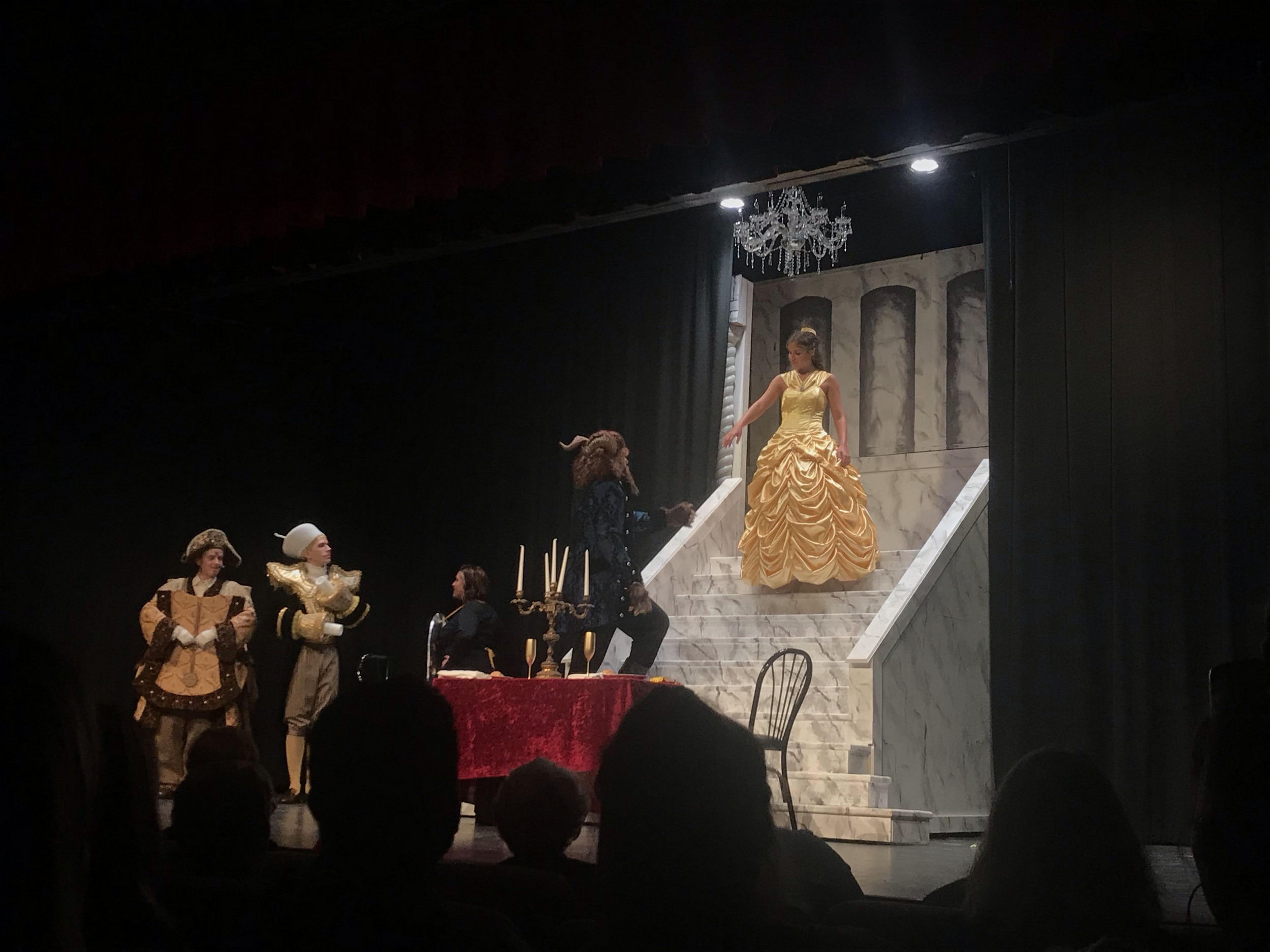 BWW Review: DISNEY'S BEAUTY AND THE BEAST at Lebanon Community Theatre