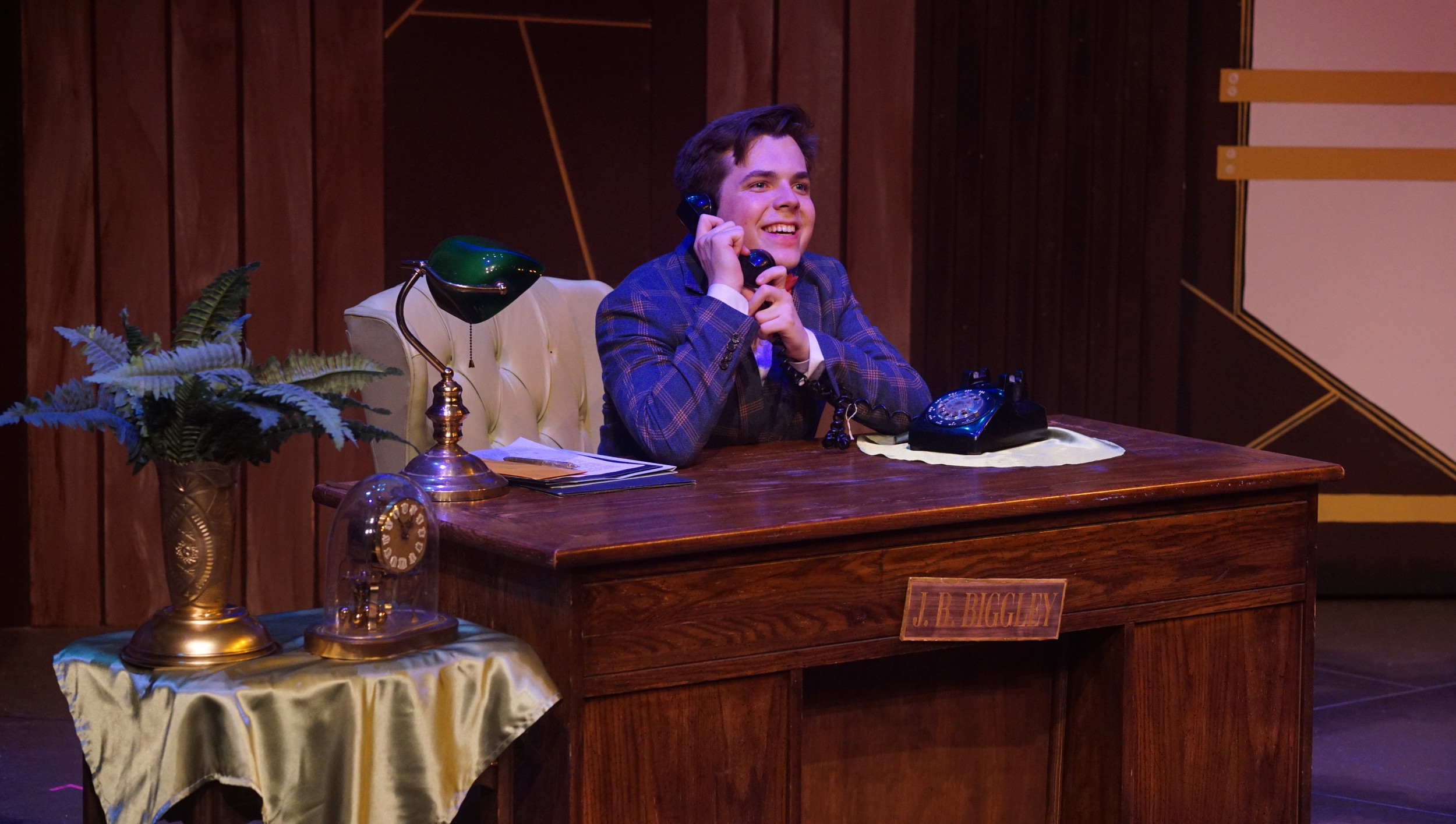 BWW Review: Step into the Office of Outrageous Talent in Summer Stock Austin's HOW TO SUCCEED IN BUSINESS WITHOUT REALLY TRYING
