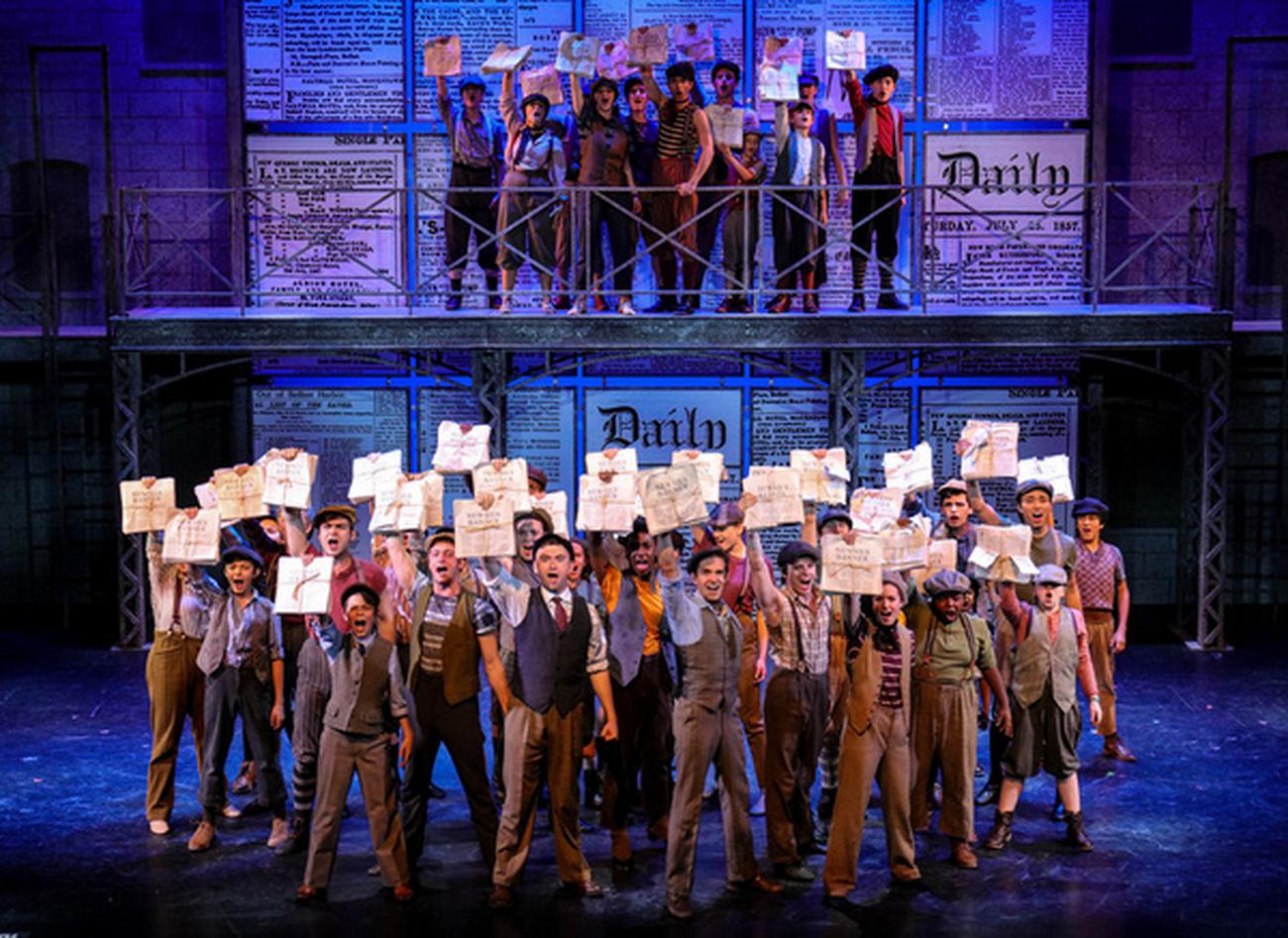 BWW Review: Disney's NEWSIES at The Lexington Theatre Company