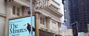 THE MINUTES Moves Out of the Cort Theatre to Make Way for Planned Renovations