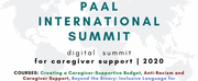 PAAL Announces International Digital Summit For Caregiver Support Photo