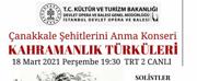 Opera Bale Istanbul PresentsCANAKKALESEHITLERINIANIYOR Photo