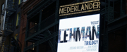 Up on the Marquee: THE LEHMAN TRILOGY Photo