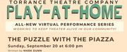 BWW Review: THE PUZZLE WITH THE PIAZZA at Torrance Theatre Company Photo