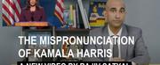 VIDEO: Comedian Rajiv Satyal Releases The Mispronunciation of Kamala Harris Photo