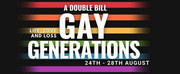White Bear Theatre Will Present a GAY GENERATIONS Double Bill and Gala Night With Peter Ta