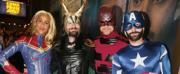 Photo Flash: BETRAYAL Cast Plays Marvel Swap for Halloween!