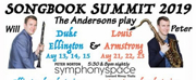 Peter and Will Anderson Presents SONGBOOK SUMMIT 2019