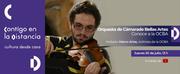 El Violinista Marco Arias Participa En Conoce A La OCBA Photo