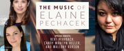 THE MUSIC OF ELAINE PECHACEK Comes To Dragonfly Studio 129