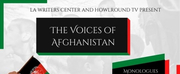 HowlRound and LA Writers Center Present A Live Online Event THE VOICES OF AFGHANISTAN