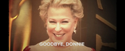 VIDEO: Bette Midler Sings Goodbye, Donnie! Photo