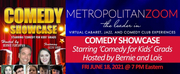 MetropolitanZoom to Present Comedy Showcase Starring Comedy for Kids Grads