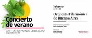 Orquesta Filarmónica de Buenos Aires Presents Concierto de verano Photo