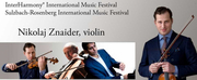 Violinist Nikolaj Szeps-Znaider Performs At InterHarmony Festival In Germany In August