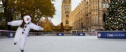Photo Flash: Take a Peek at THE SNOWMAN, Now In Its Magical 22nd Year, Skating on the Natural History Museum Ice Rink