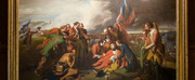 U-M Clements Library Celebrates The Death of General Wolfe Painting by Benjamin West