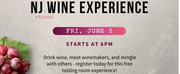 NJ VIRTUAL WINE EXPERIENCE Set for June 5