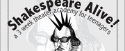 SHAKESPEARE ALIVE! Teen Camp Announced n Middletown