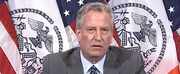 Mayor Bill de Blasio Says New York City Curfews Will be Extended Through June 7