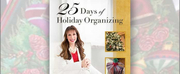 Juls Arthur Releases New Book 25 DAYS OF HOLIDAY ORGANIZING Photo