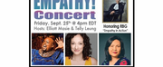 Megan McGinnis, Major Attaway And Telly Leung To Perform In Empathy Concert Honoring RBG Photo