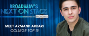 Meet the Next on Stage Top 15 Contestants - Armand Akbari