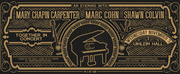 Mary Chapin Carpenter, Marc Cohn and Shawn Clovin Announce TOGETHER IN CONCERT Tour