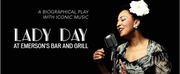 New Repertory Theatre Will Present LADY DAY AT EMERSON\