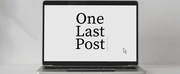Student Blog: One Last Post Photo
