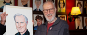 Photo Coverage: James Cromwell Receives Portrait at Sardis Photo