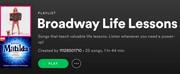 BWW Blog: Broadway Life Lessons - A Playlist Photo