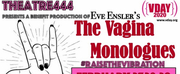 Theatre444 Will Present THE VAGINA MONOLOGUES, A Fundraiser For Safe Harbors Of The Finger Lakes