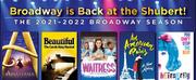 Shubert New Haven Announces 2021-2022 Broadway Series - HAIRSPRAY, BEAUTIFUL, WAITRESS &am
