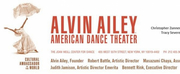 Alvin Ailey American Dance Theater Announces Special Events To Introduce New York City Center Season