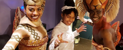 Photo Flash: GROWN-ISH Star Yara Shahidi Visits THE LION KING