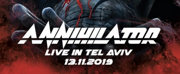 ANNIHILATOR LIVE Will Rock Out at Havana Club
