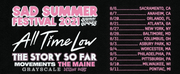 SAD SUMMER FEST 2021 Tour Relaunches With New Dates Photo