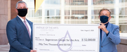 Avenue Of The Arts Costa Mesa Hotel Presents Large Check To Support Online Arts Experience Photo