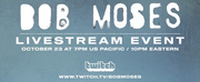BOB MOSES & TWITCH Announce Exclusive Partnership Launching with a Livestream Concert  Photo
