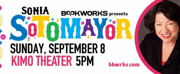 Bookworks Hosts Sonia Sotomayor at the KiMo Theater for Free Public Event