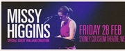 Missy Higgins Comes to Sydney Coliseum Theatre