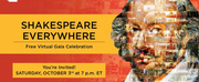 Shakespeare Theatre Company Invites All To Attend Free Virtual Gala SHAKESPEARE EVERYWHERE Photo