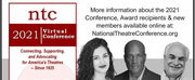 The National Theatre Conference Announces 2021 Award Recipients