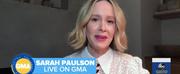 VIDEO: Sarah Paulson Talks RUN on GOOD MORNING AMERICA Photo