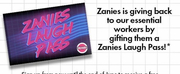 Essential Workers to Receive Free Admission to Zanies Comedy Clubs in October
