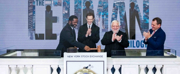 Photos: LEHMAN TRILOGY Cast Rings NY Stock Exchange Closing Bell