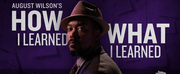 The 5 & Dime to Kick Off Season with August Wilson One-Man Show