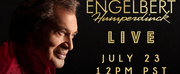 Engelbert Humperdinck Announces Livestream Event Photo